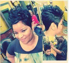 Short 27 piece quick weave natural looking | short cuts | Pinterest ...