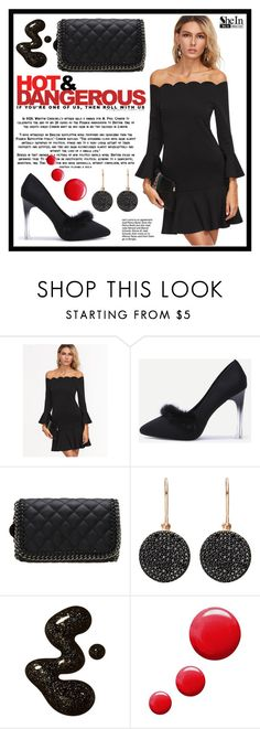 """""""SheIn 4."""" by fashion-rebel-chic ❤ liked on Polyvore featuring Astley Clarke and Topshop"""