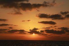 Sunset, Tel Aviv port