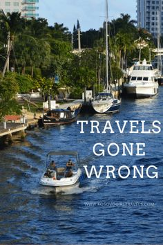 Travels gone wrong - stories from travel bloggers - Kosovo Girl Travels