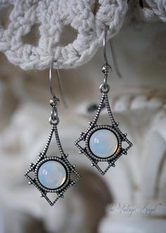 Moon Opal Earrings
