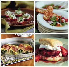Sensational Spring Dinner Party Menu and Recipes!
