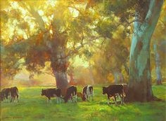 Sunset Pastoral by John McCartin
