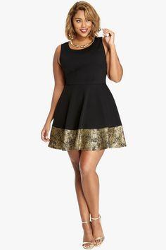 Glamorous Plus Size Holiday Dresses Under $50