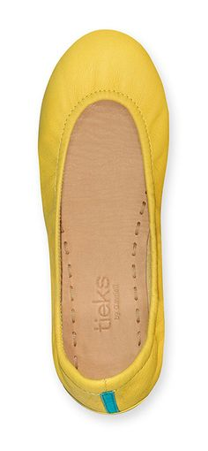 Let Mustard Yellow Tieks bring your wardrobe to life! Make a modern impact with this vibrant and fun color.