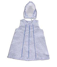 Vestido estampado con capota de Ancar - http://elarmariodecloe.com/nueva-temporada/marcas-moda-infantil/ancar-moda-infantil/vestido-estampado-con-capota-de-ancar.html