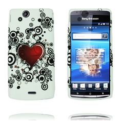 Symphony (Red Heart) Sony Ericsson Xperia Arc Cover
