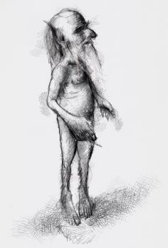 One of my sketch a day drawings Another little gnome  #drawing #fairy #gnome #sketch