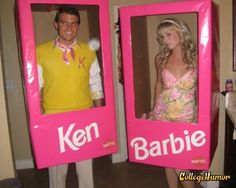 ken and barbie cute couple halloween costumesbarbie - Halloween Costume Barbie