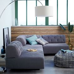 Tillary 6-Piece Sectional - Tufted #WestElm THIS WILL BE MINE