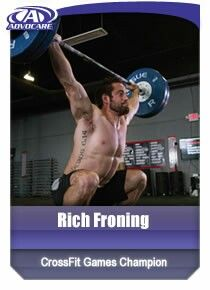 Know someone who does #Crossfit? They'll probably know #Rich #Froning as a 3 Time Crossfit Champion! We know him as being on #AdvoCare for quite some time! See what he uses at  https://www.advocare.com/01042679/Products/Endorsers/EndorserBio.aspx?id=140131275