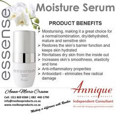 Annique Rooibos Products Moisture Serum Sensitive Skin, Serum, Moisturizer, Posts, How To Make, Products, Moisturiser, Messages, Beauty Products