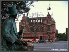 Looking at the Tivoli - Copenhagen, Kobenhavn
