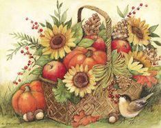 Fall Basket...susan winget