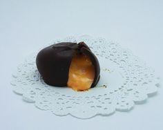 Orange cream filled chocolate