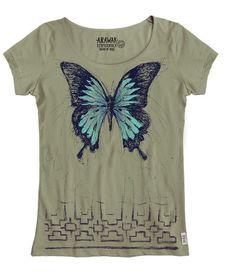 T-Shirt-Serie Peruanische Tierwelt. Das T-Shirt von Arawak-Clothing ist Made in Peru: Die gesamte Produktion von diesem T-Shirt hat in Peru stattgefunden. Vom Biobaumwolle-Bauern über die Garn- und Stoffhersteller bis zum Grafik-Designer und Druckerei.