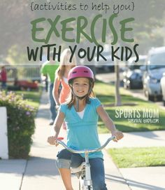 Want to get your kids moving? Do some of these fun, simple & free activities to exercise with your kids!