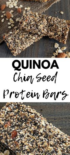 Vegan Protein Bars, Healthy Bars, Quinoa Protein, Healthy Protein, Healthy Lunches For Kids, Healthy Toddler Meals, Healthy Snacks, Toddler Food, Healthy Gluten Free Recipes