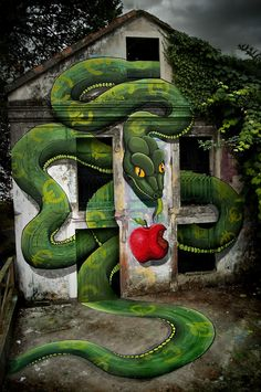 By SOKRAM. At DESORDES CREATIVAS 2012 in Ordes, Galiza, Spain 2