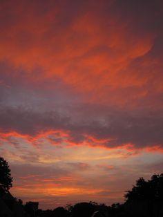 Agawam, MA Sunset - 6/22/2012