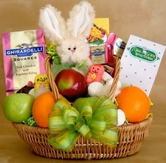 Easter Basket ideas without junk