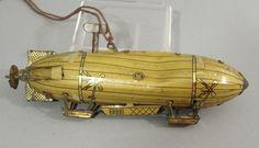 Airplane Toys, Tin Toys, Zeppelin, Rare Antique, Vintage Toys, Aviation, Balloons, German, Antiques