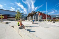 Cheney Middle Schools, Cheney Public Schools - NAC Architecture: Architects in Seattle & Spokane, Washington, Los Angeles, California