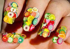 Imagini pentru fruit nails design