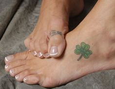 Definitely thinking of getting a Shamrock tattoo... if i could only figure out what i wanted