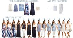 It's like a vacation capsule wardrobe! I finally found a way to make vacation packing so much easier with Vacay! Each piece collection can makes 14 outfits which means you can pack light but still have a lot of outfit options! Cruise Outfits, Vacation Outfits, Vacation Packing, Travel Outfits, Packing Lists, Cruise Travel, Travel Packing, Weekend Packing, Vacation Wardrobe