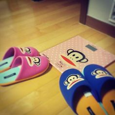 His and hers slippers? Yes please!