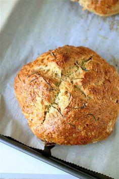 rosemary brown butter soda bread