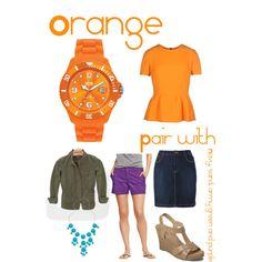Orange compliments