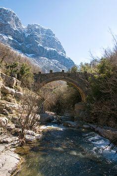A bridge in Papigo - Papigo, Ioannina