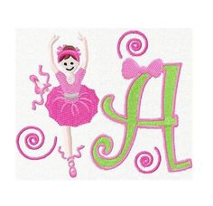 26 Ballet Letters Machine embroidery designs This is a set of 26 digitized machine embroidery designs. You need to have an embroidery machine and knows how to transfer to your machine.    Each letter is approximately 3.90. The following formats are available:    PES HUS  ART  DST  EXP  XXX  JEF  VIP  please let me know the format upon payment. Your designs will be emailed to you within 24 hrs.    Terms of Use  All my designs are copyright protected and belong solely to Fun Stitch. You may…