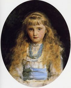Portrait of Beatrix Caird by John Everett Millais