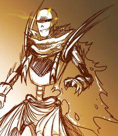 GZTALE - Royal Guard Papyrus (Genocide) by GolzyBlazey on DeviantArt