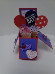Red Hat Society Card in a Box