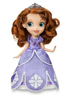 Guess what one of Kaylee's gifts will be? Sofia the First Singing Doll