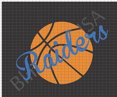 Vinyl Basketball Raiders Rhinestone Download File Tempate Basketball Bling Sports Stone Stencil Logo System Raiders Sticky Flock