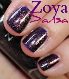 SANSA - Zoya Ignite Nail Polish Swatches
