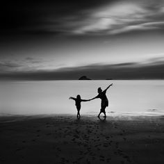 Black and White Photography: Dancing...
