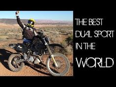 o#o Suzuki DRZ 400 Quick Review: Best Dual Sport Motorcycle in the World - YouTube Dual Sport, Riding Gear, Good Things, Adventure, World, Sports, Youtube, Biker, Motorcycles