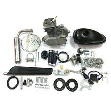 Elektrofahrräder Silver 80cc 2-Stroke Petrol Gas Motor Engine Kit DIY Motorized Bicycle Bike QS