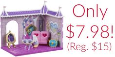 Animal Jam Princess Castle Den Playset Only $7.98!