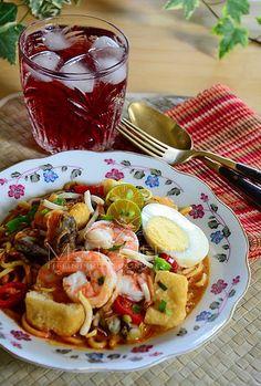 rsz_mi_kari_senja_kala Mango Pulp, Malay Food, Malaysian Food, Rice Recipes, Eating Well, Noodles, French Toast, Cooking, Breakfast