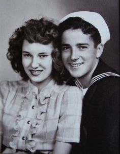sailor and his girl (1940s)