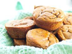 Flourless, Sugarless Sweet Potato Blender Muffins