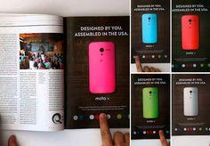 Marca cria anúncio interativo em página de revista e prova que ainda é possível inovar na mídia impressa