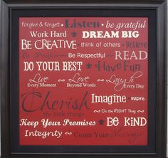 Words to Live By - Giggles Galore